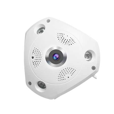 2MP Smart Indoor IP Camera Panoramic Monitoring ZJ-C61S